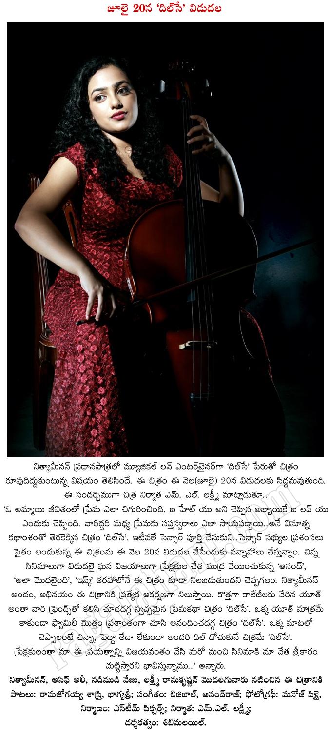 Nithya Menon DilSe