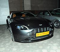 Ram Charan's Aston Martin Virage Car (Posters) Photos