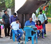 Keechaka (On The Sets) Photos
