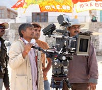 Saahasam (Working) Photos