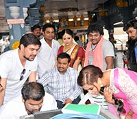 Savitri (Working) Photos