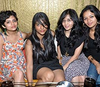 Smoking Girls at Bottles n Chimney Pub, Hyderabad Photos